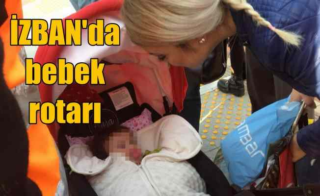 Bebek vagonda kalınca İZBAN treni durdu