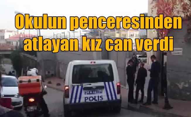 Beyoğlu'nda okulun penceresinden atlayan kız öğrenci öldü