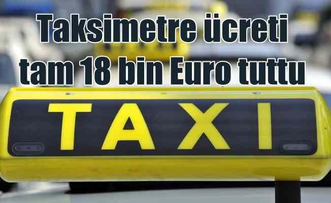 Dünyanın en saf taksicisi; İki kıta gezdi, parasını alamadı