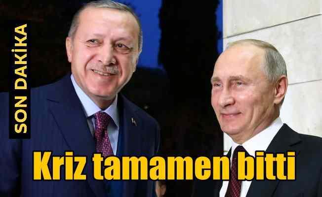 Erdoğan Putin görüşmesi: Tüm kısıtlamaları kaldıralım