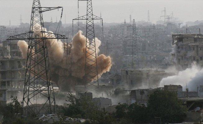 Esed rejimi Doğu Guta'da sivilleri hedef aldı