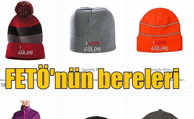 FETÖ Amazoon'da hediyelik eşya satıyor