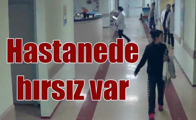 Hastane hırsızının fotoğrafı koridorlara asıldı