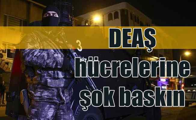 İstanbul'da terör operasyonu; 82 DEAŞ zanlısı gözaltında