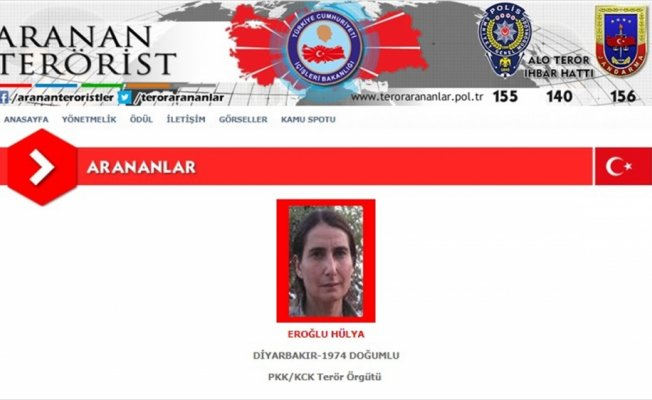 Kırmızı listedeki kadın terörist etkisiz hale getirildi