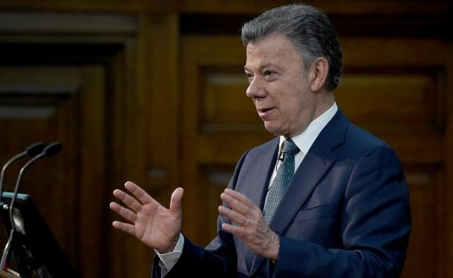 Kolombiya Devlet Başkanı Santos'tan Kongreye çağrı
