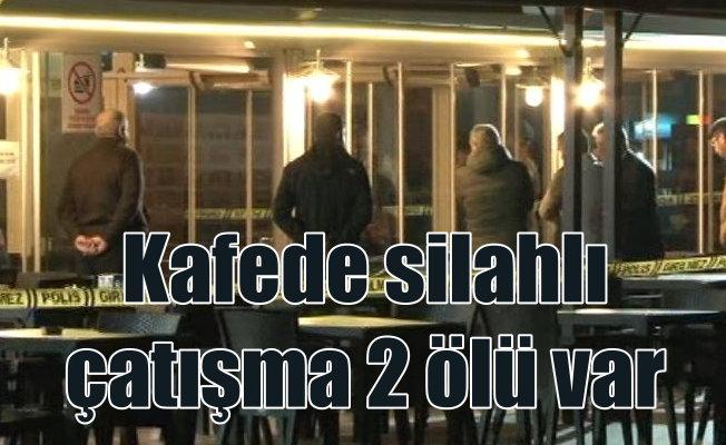 Maltepe'de silahlı çatışma; 2 ölü var
