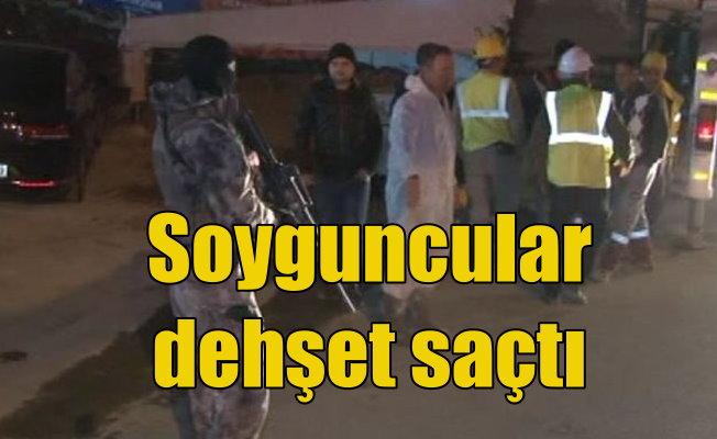 Market soyguncuları polisle çatıştı