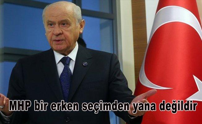MHP Genel Başkanı Bahçeli: MHP bir erken seçimden yana değildir