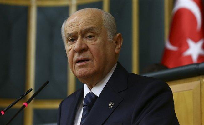 MHP Genel Başkanı Bahçeli: MHP terörle mücadelede hükümetin destekçisidir