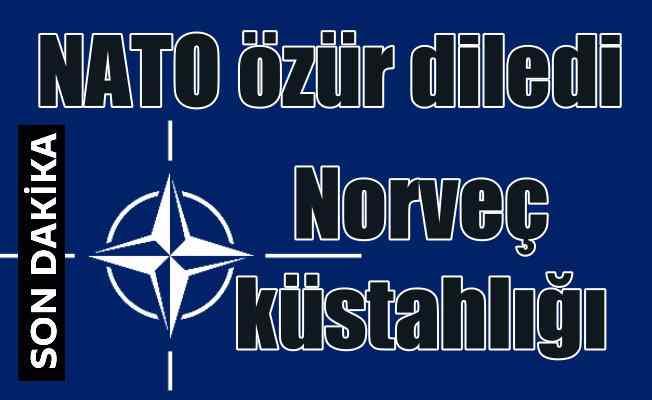 Norveç küstahlığına NATO'dan özür geldi