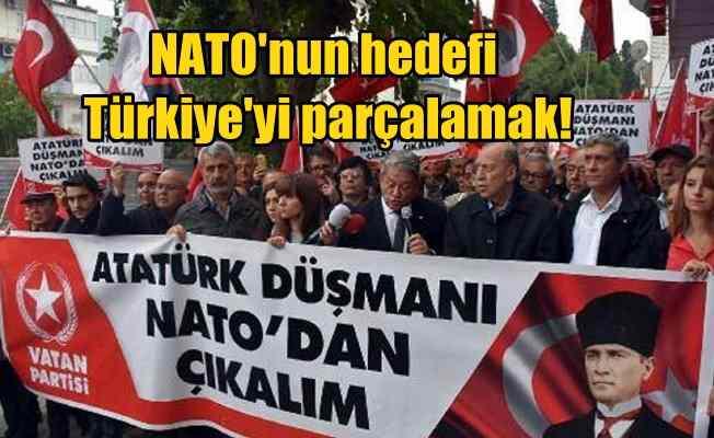 Perincek; Nato vatanımızı parçalamayı hedefliyor