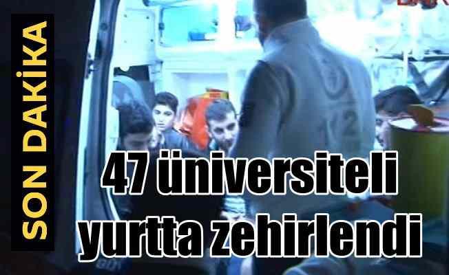 Sancaktepe'de üniversite öğrencileri zehirlendi