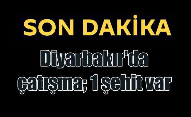 Son Dakika; Diyarbakır'da polis teröristlerle çatıştı