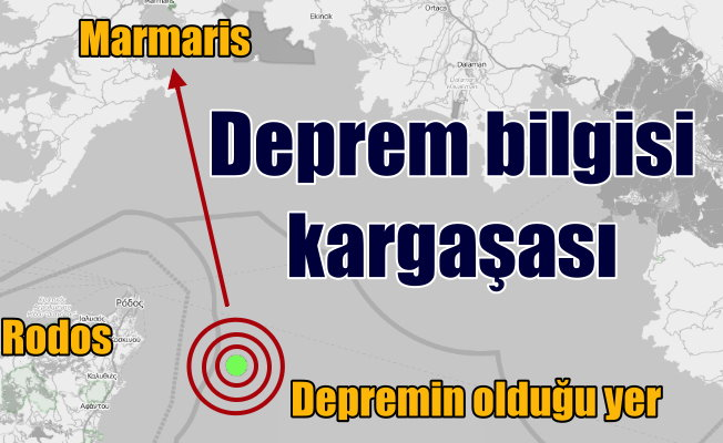 Son Depremler: Akdeniz'de deprem; Kandilli 4.7, AFAD 4.4