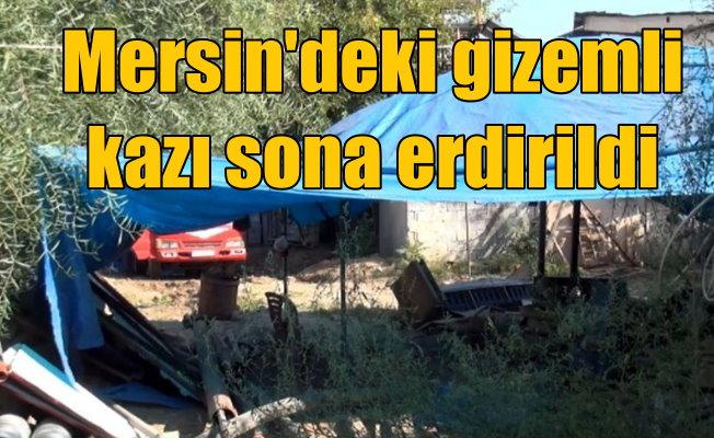 Tarsus'taki gizemli kazı: Nihayet sona erdi