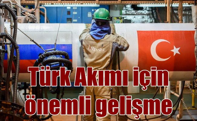 Türk Akımı, denizden Türkiye sınırlarına ulaştı