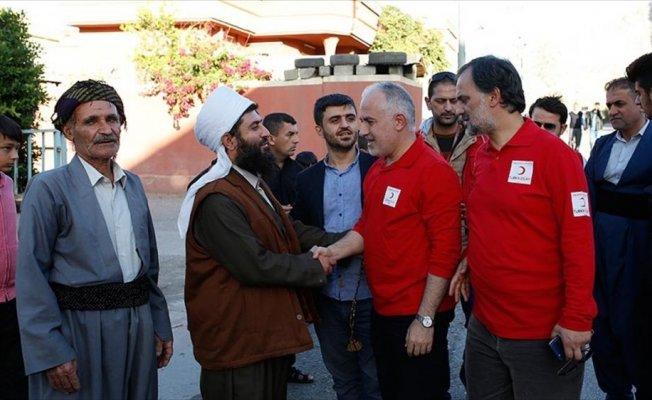 Türk Kızılayı Genel Başkanı Kınık: Irak'a zararla ilgili resmi rakamlar yayınlanmadan geldik