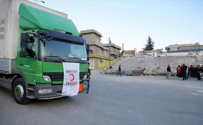 Türk Kızılayı Irak'taki deprem bölgesine ilk ulaşan ekip oldu