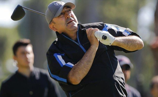 Turkish Airlines Open 2017 Golf Turnuvası'na Bakan Çavuşoğlu da katıldı