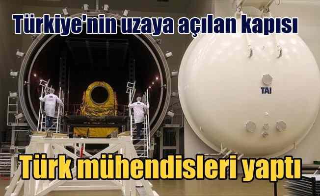 Türkiye'nin uydu merkezi ilk kez görüntülendi