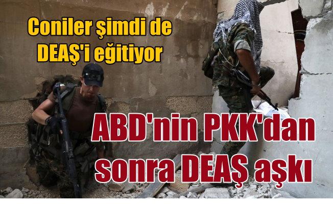 Amerika PKK'dan sonra DEAŞ'li teröristlerle el sıkıştı