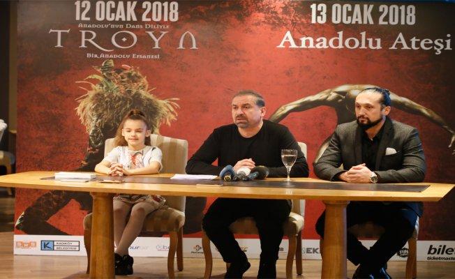 Anadolu Ateşi Dans Topluluğu dev İstanbul gösterisini tanıttı