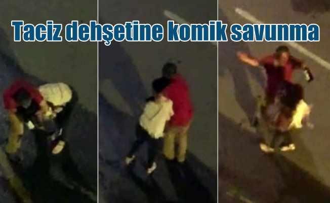 Antalya'da yolda yürüyen kadını taciz eden zanlı serbest