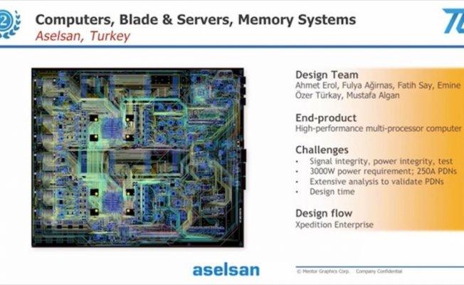 ASELSAN'a elektronik tasarım alanında ödül