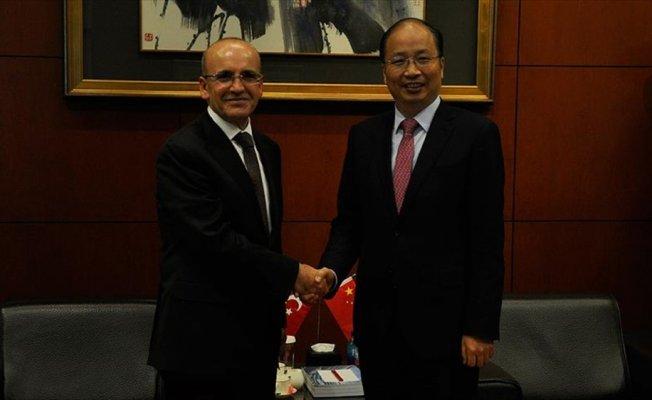 Başbakan Yardımcısı Şimşek Çin'de: