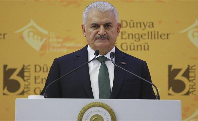 Başbakan Yıldırım'dan engelli vatandaşlara istihdam müjdesi