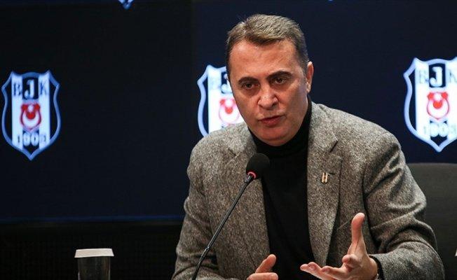 Beşiktaş Kulübü Başkanı Orman: Tek planımız şampiyonluk