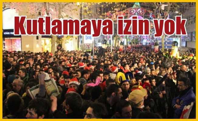 Beşiktaş'ta yılbaşı kutlamasına izin yok