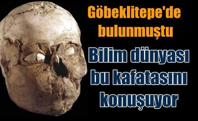 Bilim dünyası, Göbeklitepe'de bulunan kafatasını konuşuyor