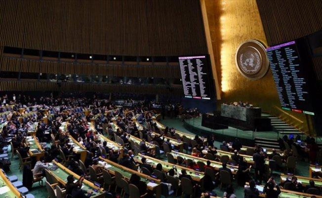 BM'de Türkiye'ye Kudüs övgüsü