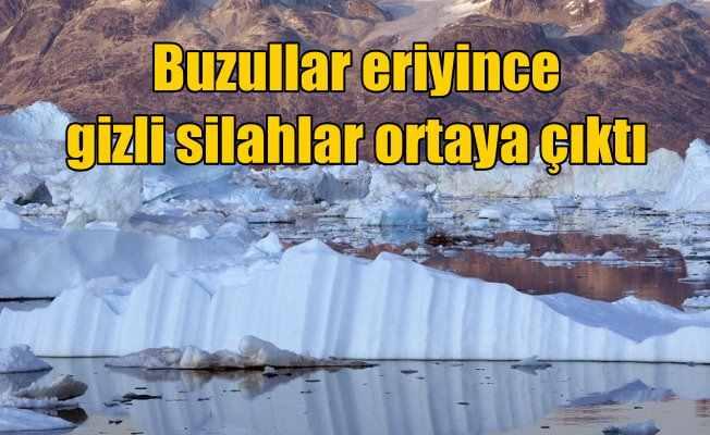 Buzullar eriyince Amerika'nın gizli atom silahları ortaya saçıldı