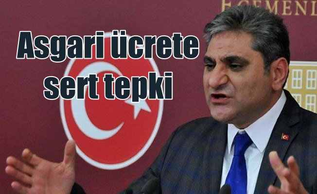 CHP'den asgari ücrete sert tepki: Bu zulümdür