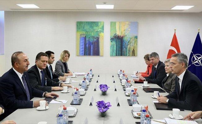 Dışişleri Bakanı Çavuşoğlu, Stoltenberg ile bir araya geldi