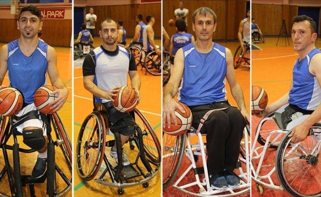 Engellilerin hayatı basketbolla renklendi