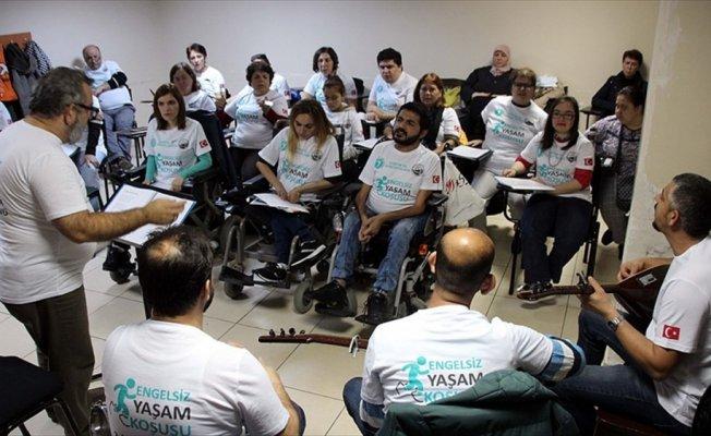 'Engelsiz Yaşam Korosu' yeni konserler için hazırlanıyor