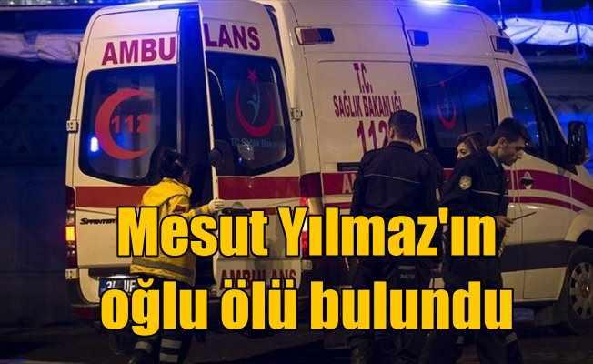 Eski Başbakanlardan Mesut Yılmaz'ın oğlu intihar etti