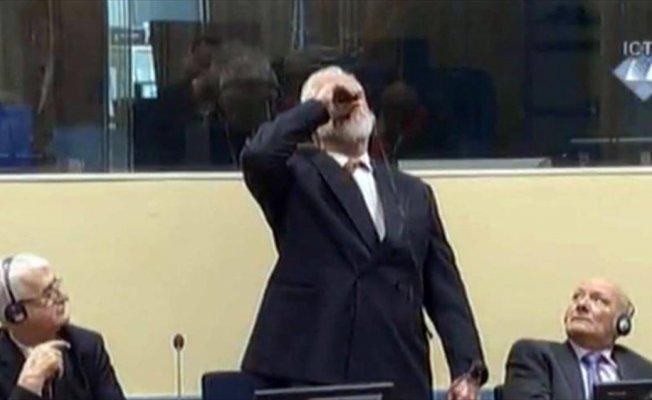 Eski Hırvat general 'potasyum siyanür' içerek intihar etmiş