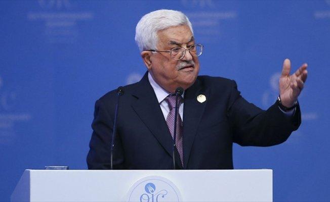 Filistin Devlet Başkanı Abbas: ABD'nin barış sürecinde yer almasına asla izin vermeyeceğiz