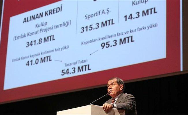 Galatasaray Kulübünün olağanüstü kongresi toplandı