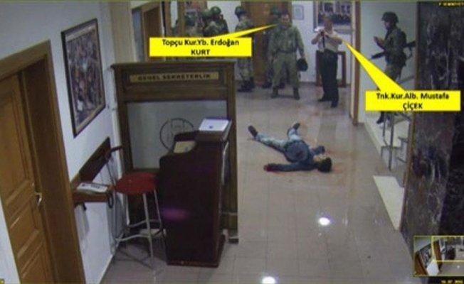 Genelkurmay'daki yaralı vatandaşın fotoğrafını 'refleks' olarak çekmiş