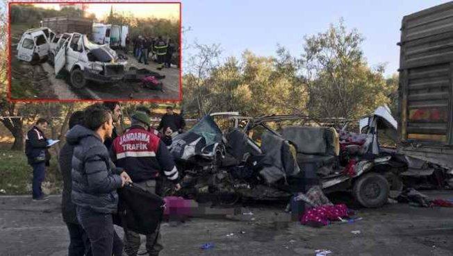 Hatay'da feci kazada ölü sayısı 11'e yükseldi