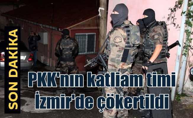 PKK'nın kadın bombacısı yakalandı: İzmir'de 53 gözaltı