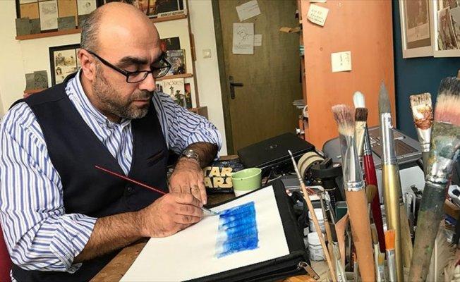 RoboCop'un çizeri Türk sanatçı yeniden dünya sahnesinde