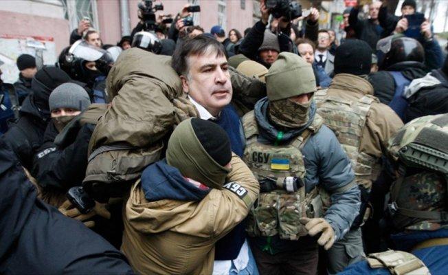 Saakaşvili gözaltına alındı