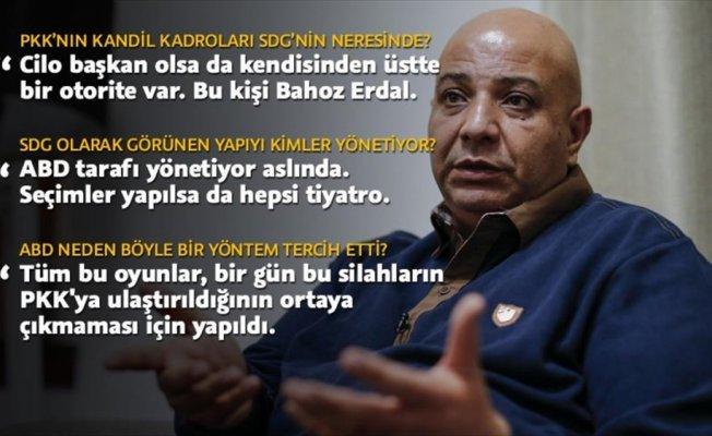 'SDG'nin kaçan sözcüsü Silo, ABD-PYD/PKK ilişkilerini anlattı